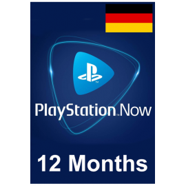 PSN - Playstation Now - 12 Months (Germany) Subscription