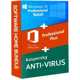 Windows 10 Pro + Office Pro Plus 2019 + Kaspersky Antivirus